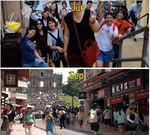 홍콩 6월,7월,8월,9월 옷차림