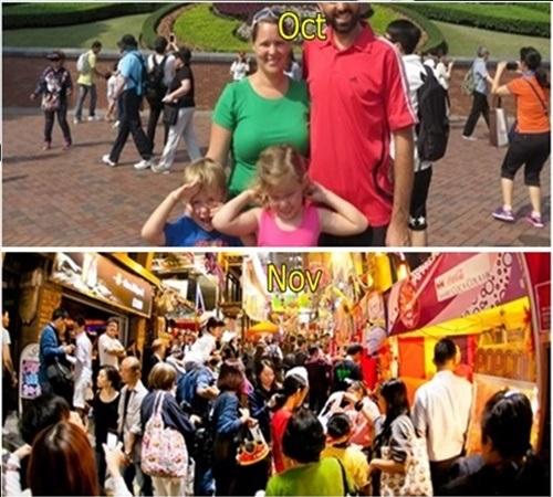 홍콩 10월 날씨 옷차림